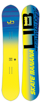 Deska snowboard Lib Tech Skate Banana BTX  Yellow/Blue 2017/18