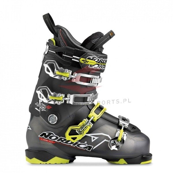 Buty narciarskie Nordica NRGY PRO 3 BLK / LIME  2015/16