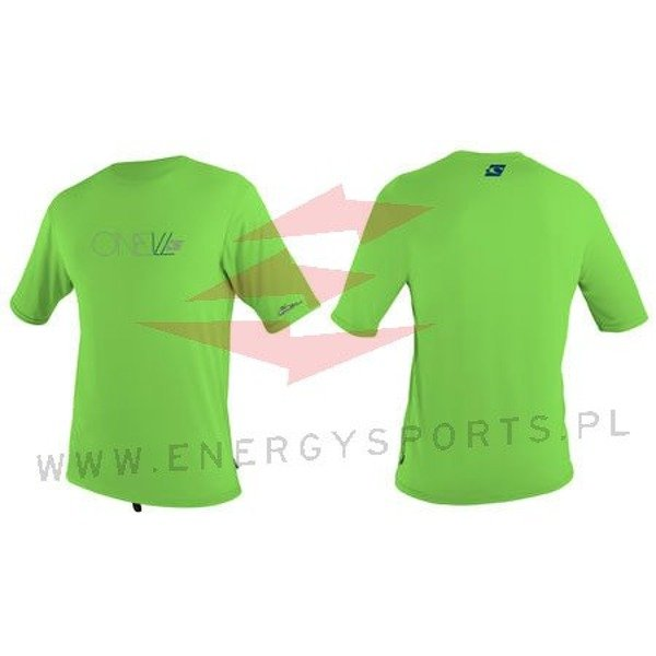 Juniorska Lycra O'neill Youth S/S Rash Tee Dayglo green